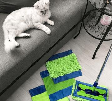 pre ľahkú každodennú údržbu čistoty